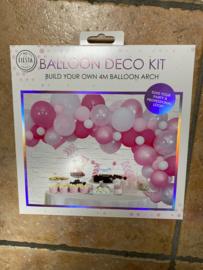 Deco ballonnen pakket roze