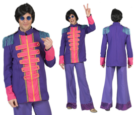 Beatles jacket Purple maat 48/50