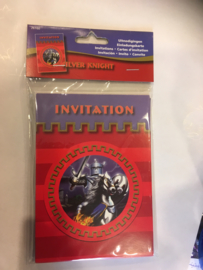 Knight invititation 8 stuks