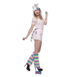 Unicorn Hat & Tail set