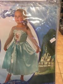Frozen jurk maat 3/4 jaar