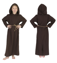 Father Child robe with hoofd belt maat 116