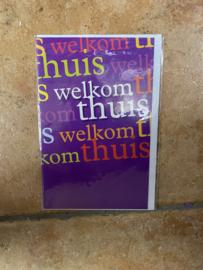 Kaart Welkom thuis