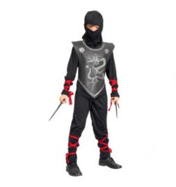 Ninja maat 10-12 jaar 130/140 cm