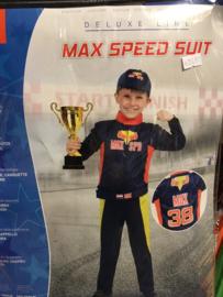 Max speed Suit maat 140/158 cm ( 140/152)
