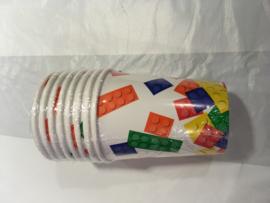 Lego Bekers 8 stuks