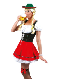 Beer Garden Babe dress with shirt maat 36/38
