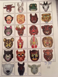 Animals masknummer 1 Koe