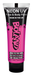 Hair Face Body paint 10 ml neon pink