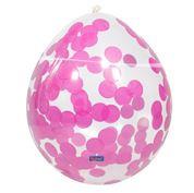 Confetti balloon Pink 4 stuks