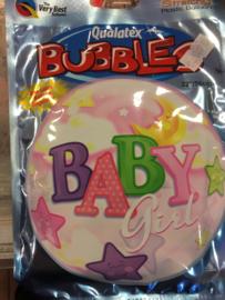 Baby girl Wordt geleverd zonder helium 56 cm