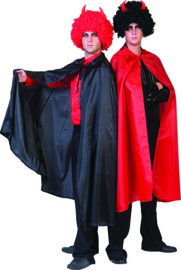 Black Nylon Cape Adult one size