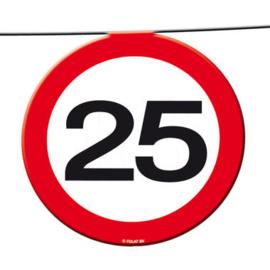 25  jaar verkeerslinger 12 meter 15 signs