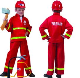 Fireman Shirt en Pants maat 116