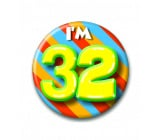 Button  32 jaar