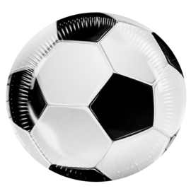 plates Football 6 pcs set