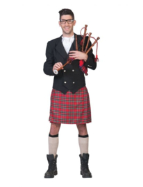 Mr MC Connery jacket, kilt,neckpiece maat 48/50