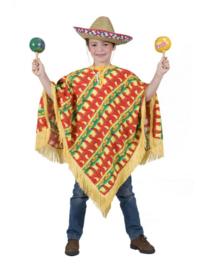 Fiesta poncho maat 116