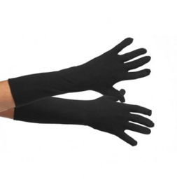 Handschoenen zwart luxe maat xs