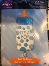 Baby boy  Wordt geleverd zonder helium 58x 25 cm