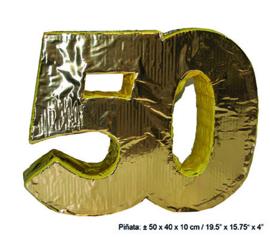 piñata 50 goud
