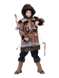 Eskimo Nalu Child maat 116 Coat With hood, boot covers