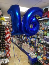 Ballonnen Deco met helium en gewichtjes