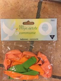 mijn eerste communie ballonnen