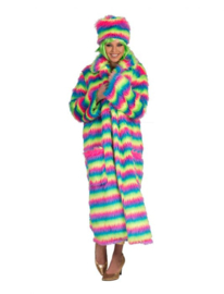 Rainbow Coat one size