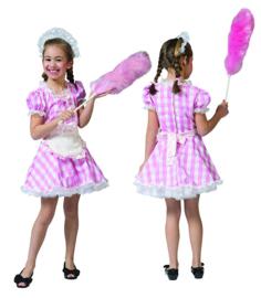 Little Louisa dress apron headpiece maat 104