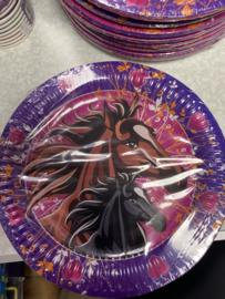 Paarden bordjes 8 stuks