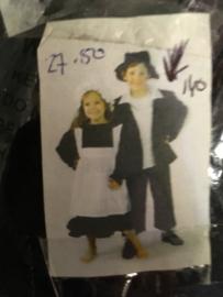 Jongens kostuum maat 140