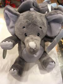 knuffel olifant Wit / Grijs