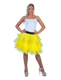 Fancy Petticoat Neon Yellow One Size