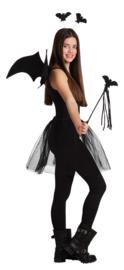 Tiara, wings, magic wand, skirt One Size