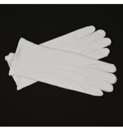 Handschoenen wit  luxe maat XL