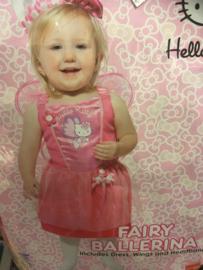 Hello Kitty maat 128/134 Fair ballerina inclusief dress, wings and headband