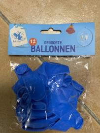 Ballonnen Voetjes 12 stuks