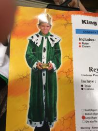 Kings Robe Crown  maat 7/10 jaar