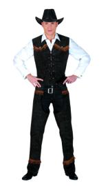 Best of the west Cowboy maat 48-50 Vest en Chaps