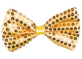 Vlinderstrik Goud