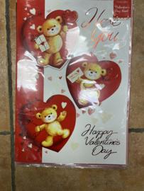 Grote valentijnkaart