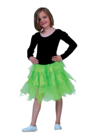 Fancy Petticoat Neon Green Child One Size