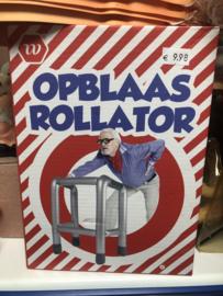 opblaas rollator