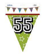 Vlaggenlijn 55 jaar ca 8 meter