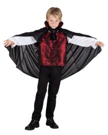Boy Shirt cape With collar & jabot maat 7/9 jaar