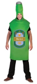 Beer Bottle Slipover costume one size