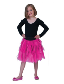 Fancy Petticoat Pink Child One Size