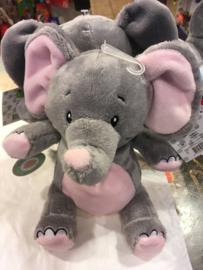 knuffel olifant Rosé / Grijs