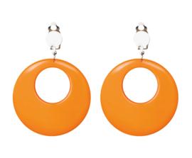 Earrings Hippie Orange
